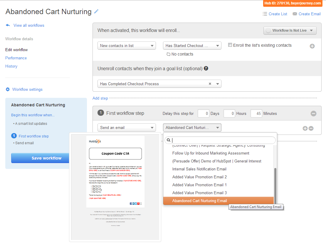 Abanonded_Cart_HubSpot_Workflow